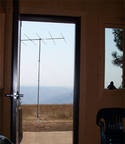 6 Meter Yagi on the Butte
